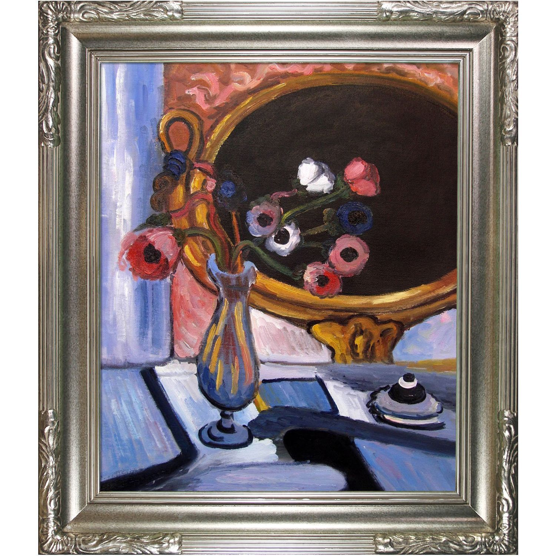 Henri Matisse \'Anemone and Mirror\' Hand Painted Framed Art | Henri ...