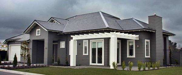 Monier Horizon House Concrete Roof Tile Colour Sambuca House Exterior Concrete Roof Tiles Monier Roof Tiles