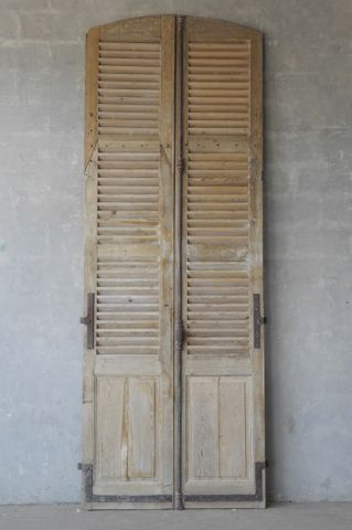 Chateau Domingue 11036 156h Vintage Shutters Wooden Shutters Old Shutters