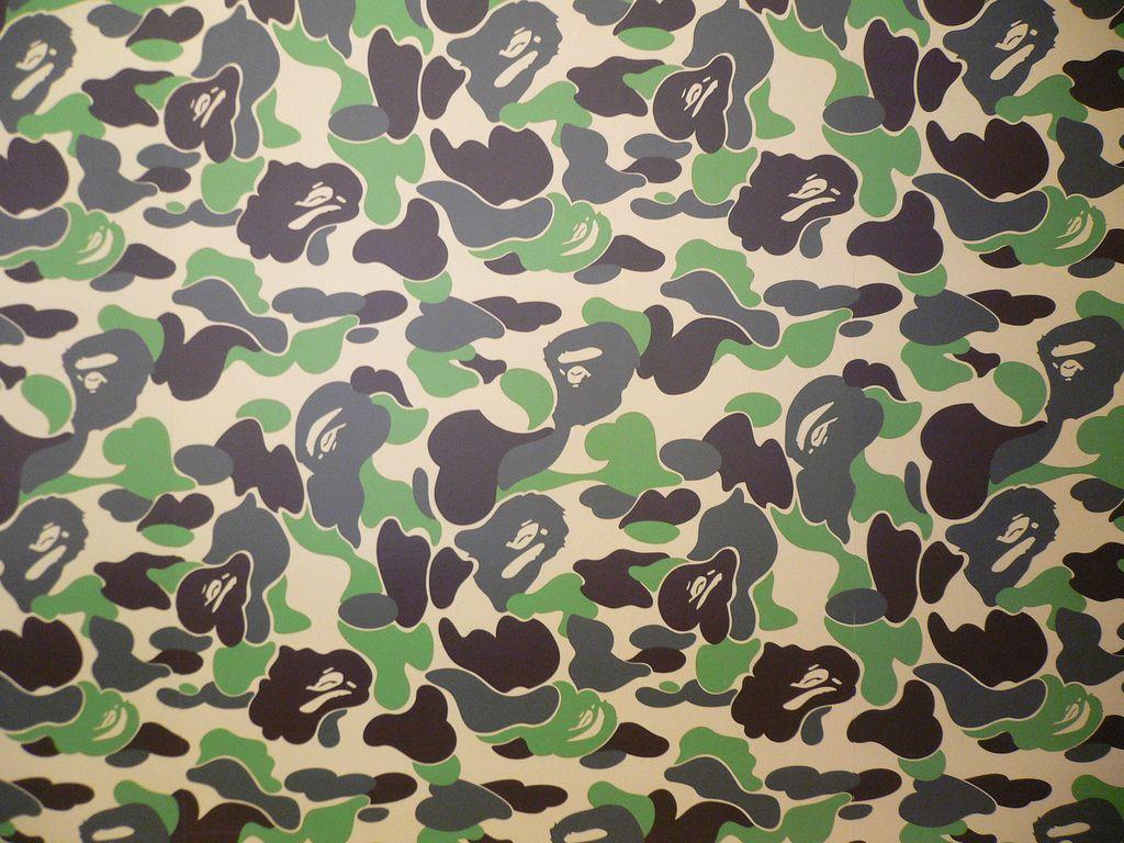 A Bathing Ape Camo Pattern | Camuflados | Pinterest | Camuflaje
