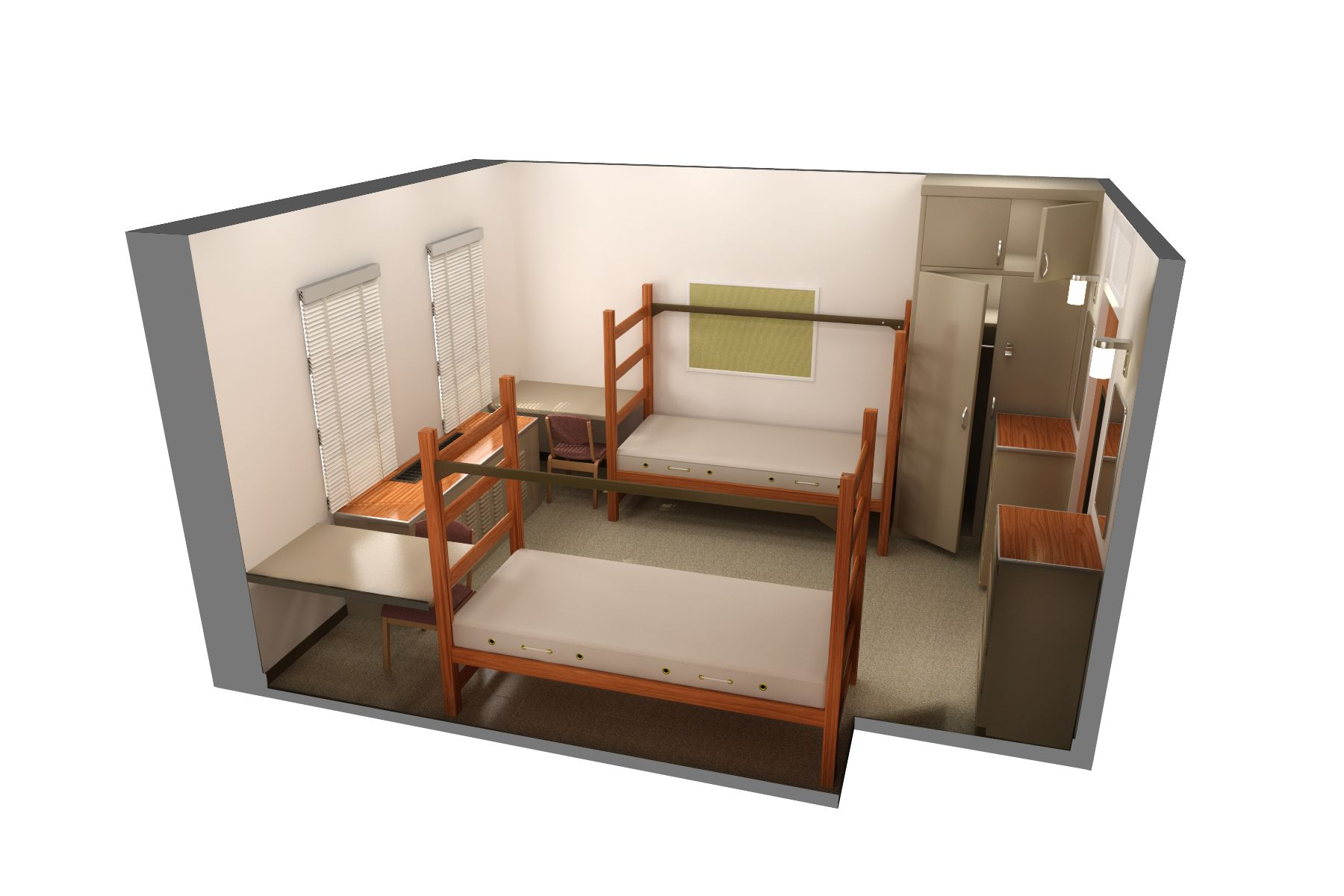 Creswell Hall Uga Bed Size