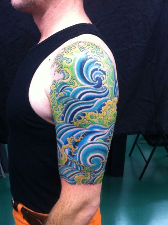 55 Creative Watercolor Tattoos For Men And Women Water Tattoo