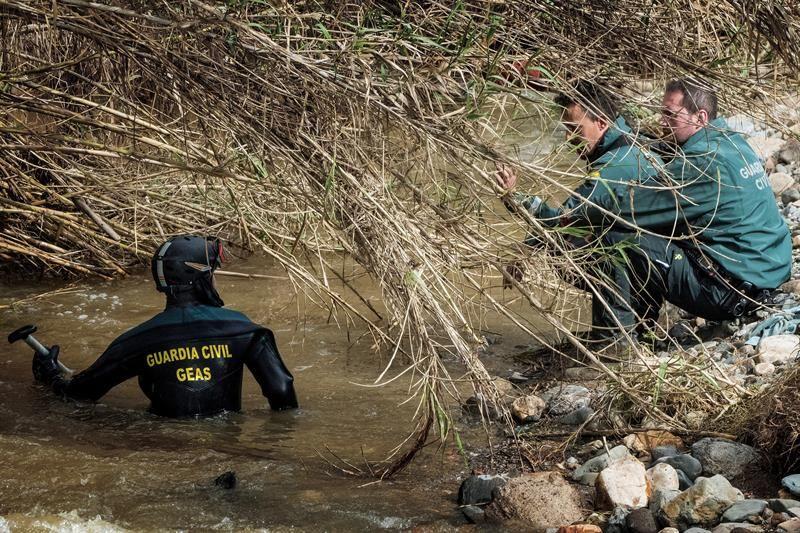 Un muerto y un desaparecido a causa del temporal en Andalucía