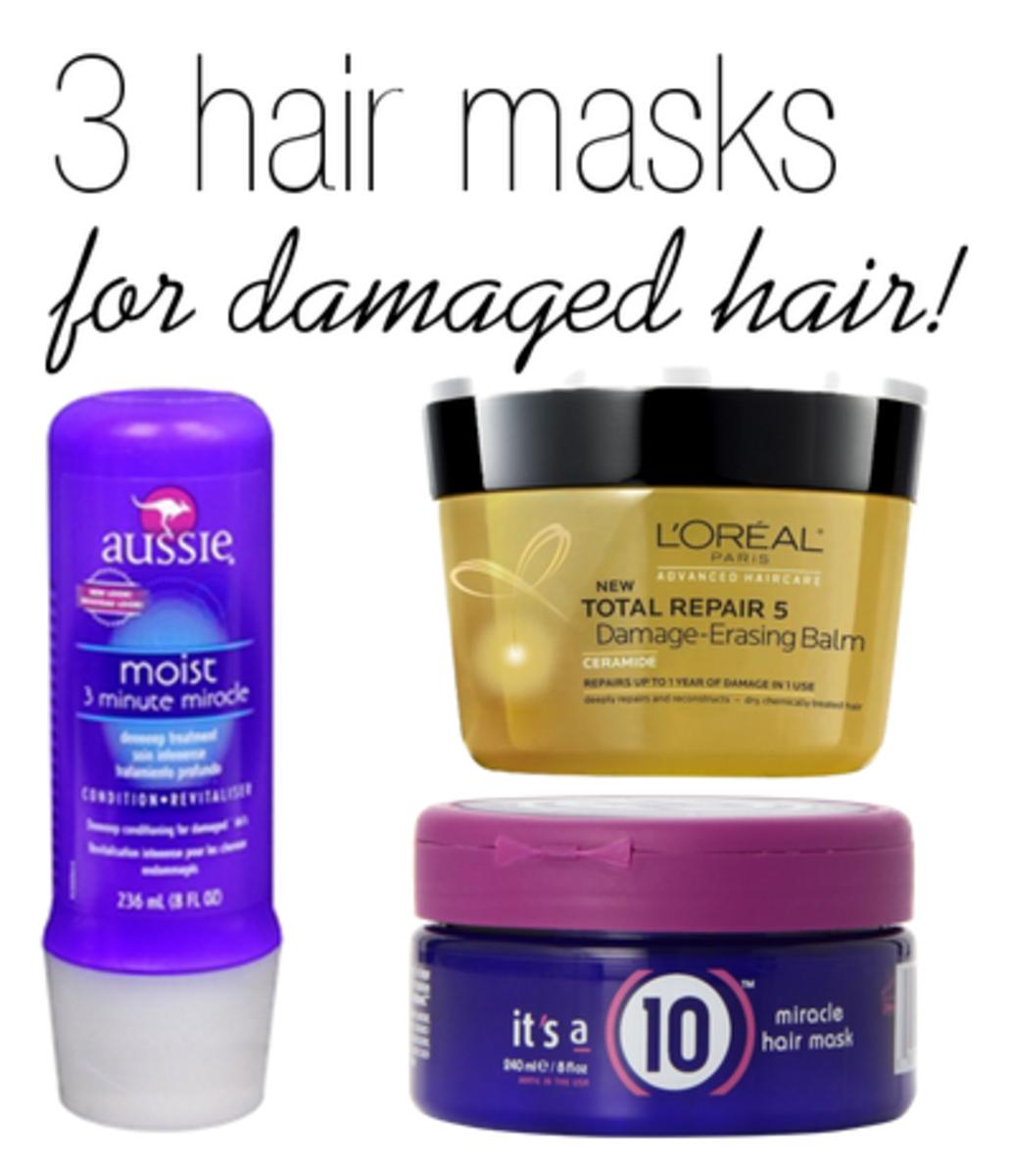 3 amazing hair masks damaged