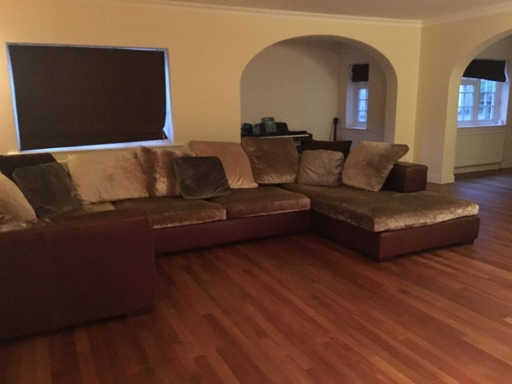 Giovanni Erba Leather Sofa