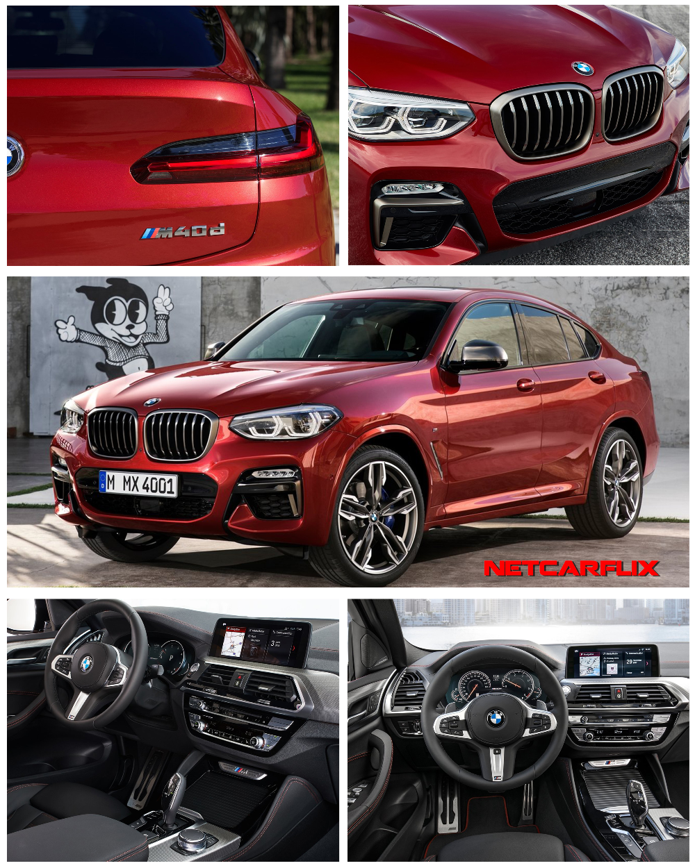 2019 BMW X4 & BMW X4 M40d