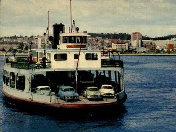 Ferry Boat To Coronado 1960s San Diego Area Coronado Ferry San