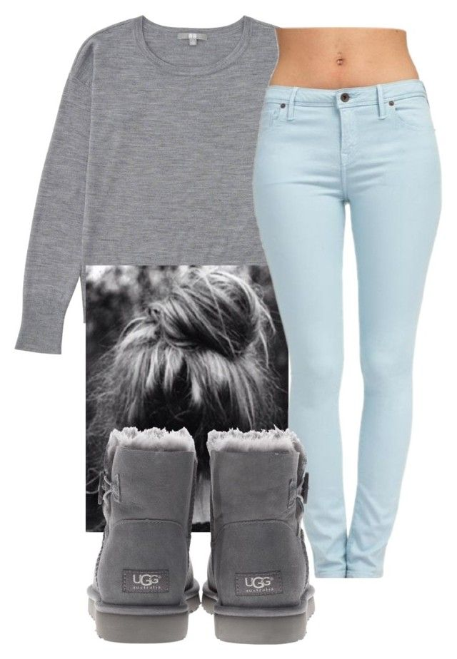 """"" by aribearie ❤ liked on Polyvore featuring Uniqlo, Jack Wills and UGG Australia"