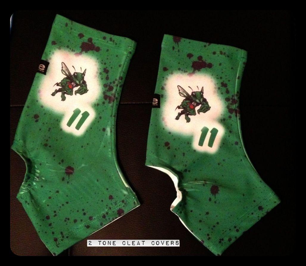 custom football cleat covers