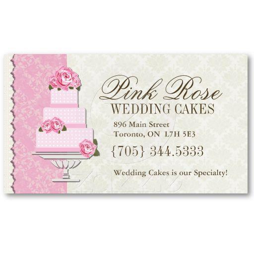 Wedding Cake Artist Business Cards Zazzle Com Cake Business Cards Artist Business Cards Cake Business