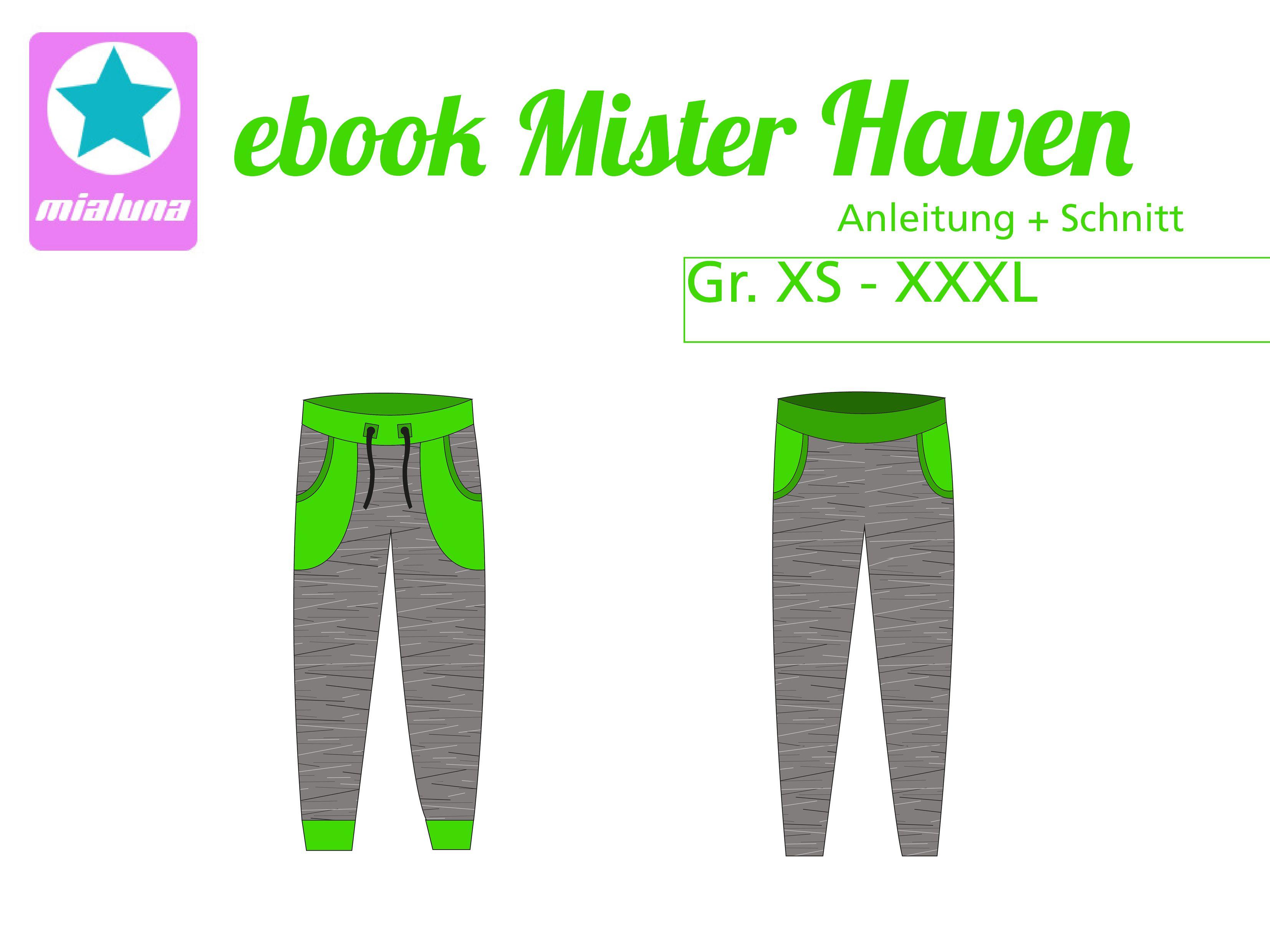 Ebook Sweathose Mister Haven Gr. XS-XXXL | Special: Große Größen ...