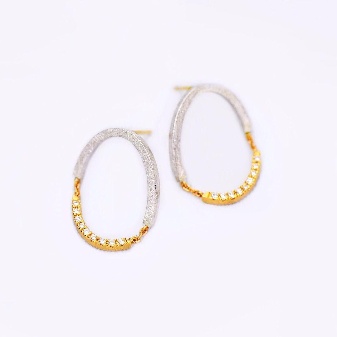 giclatさんはinstagramを利用しています ただ今 drama横浜店ではgiclatの新作イベント開催中です drama hpfrance こちらはダイヤモンドが揺れるバイカラーのピアス ダイヤモンドがたっぷり daily jewelry delicate bracelet jewelry