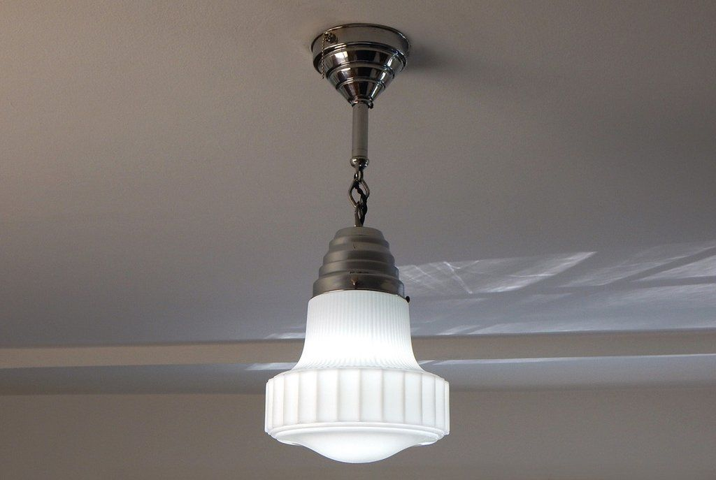 Pull Chain Ceiling Light Fixture Brilliant Art Deco Aluminum Pendant Light With Pull Chain  Pendant Lighting Decorating Inspiration