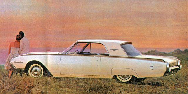 1961 ford thunderbird hardtop ford thunderbird ford and cars rh pinterest com
