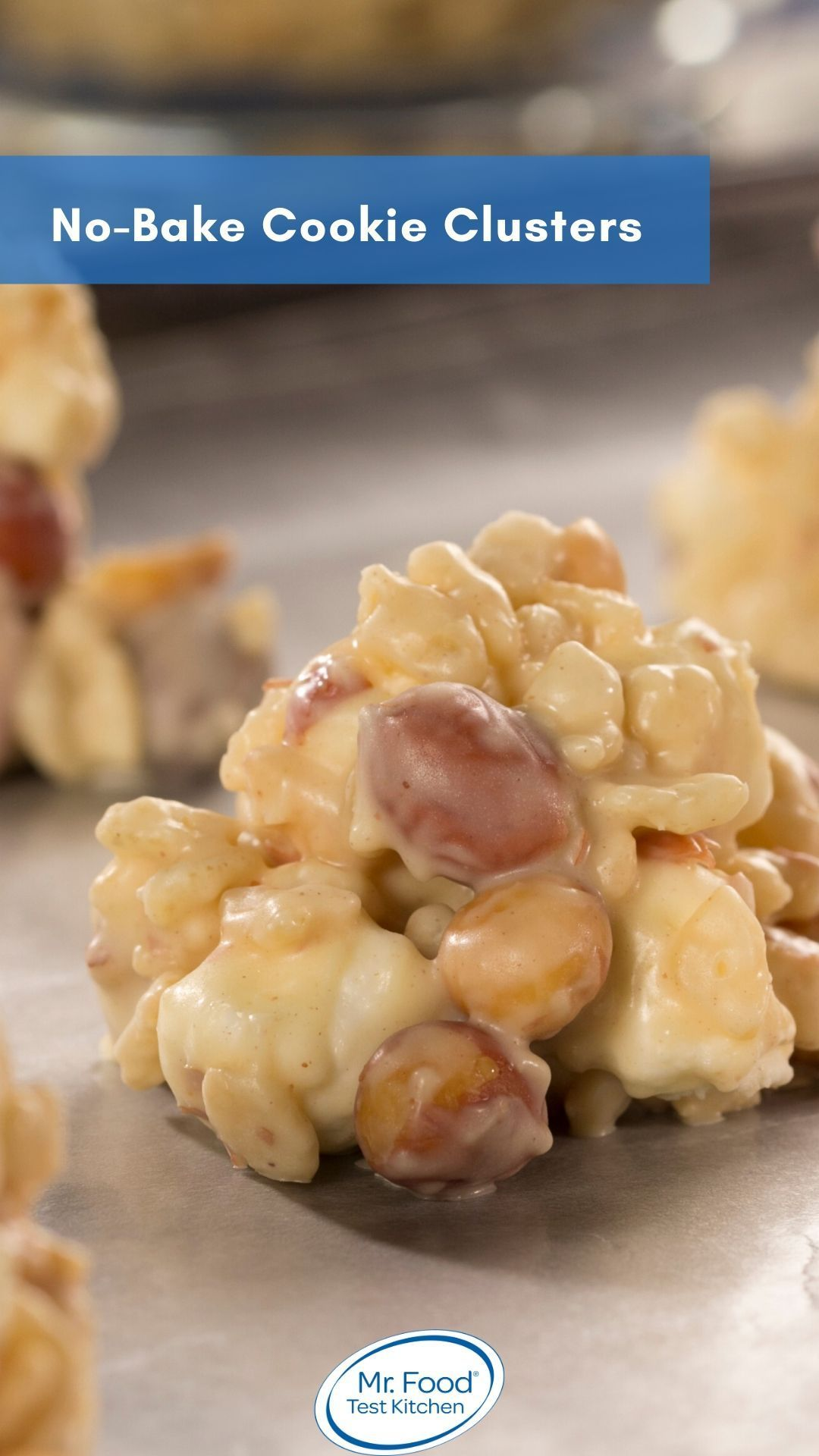 No Bake Cookie Clusters Recipe Homemade Recipes Dessert Recipes Homemade Recipes