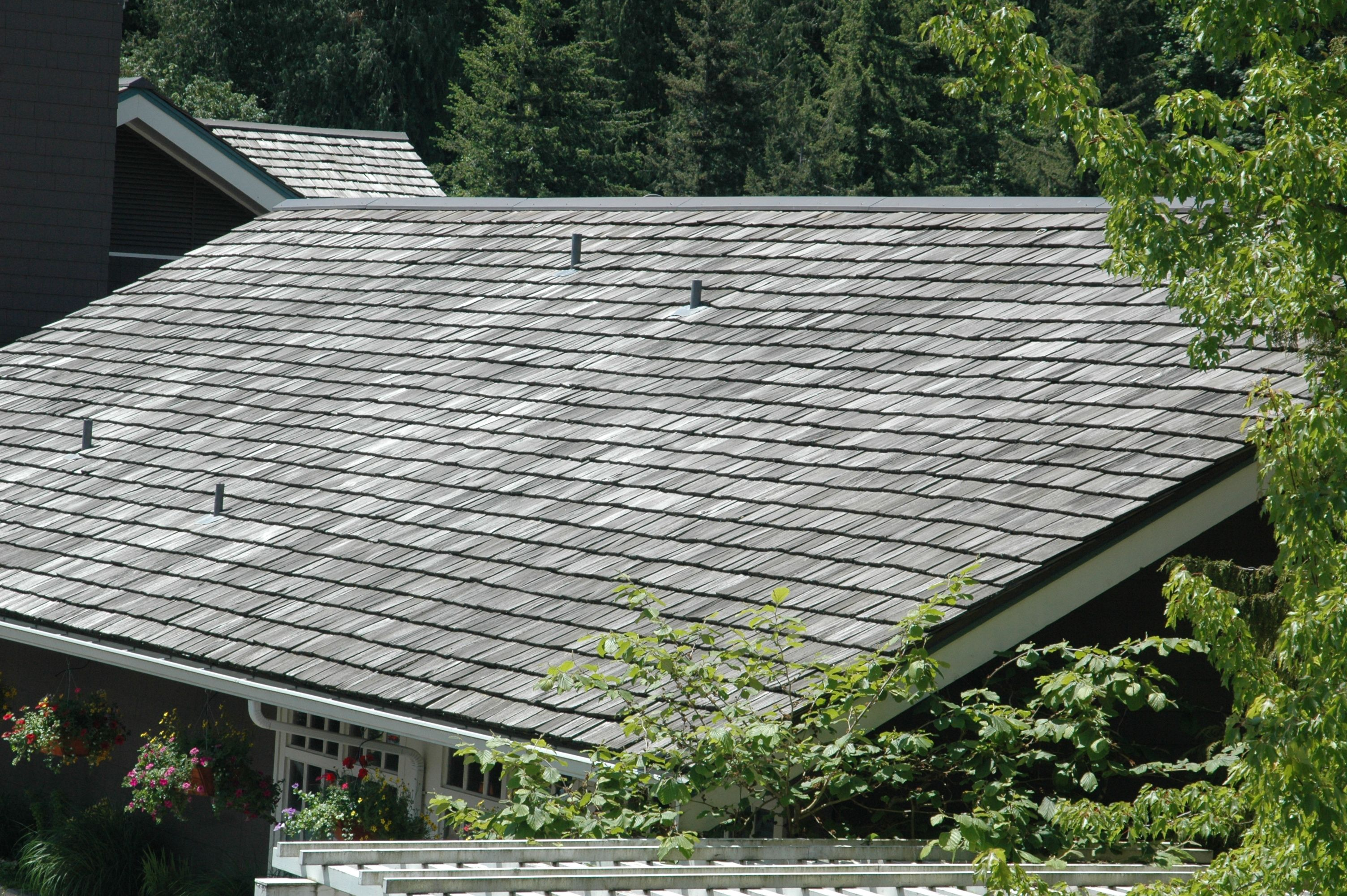 Rs 20 Permanent Roof Safety Anchors Installed Near The Ridge On A Wood Shake Roof Near Snoqualmie Falls Wa Wood Shake Roof Shake Roof Wood Shakes