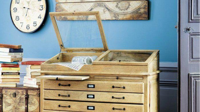 Le style naturaliste gagne du terrain en déco mobilier
