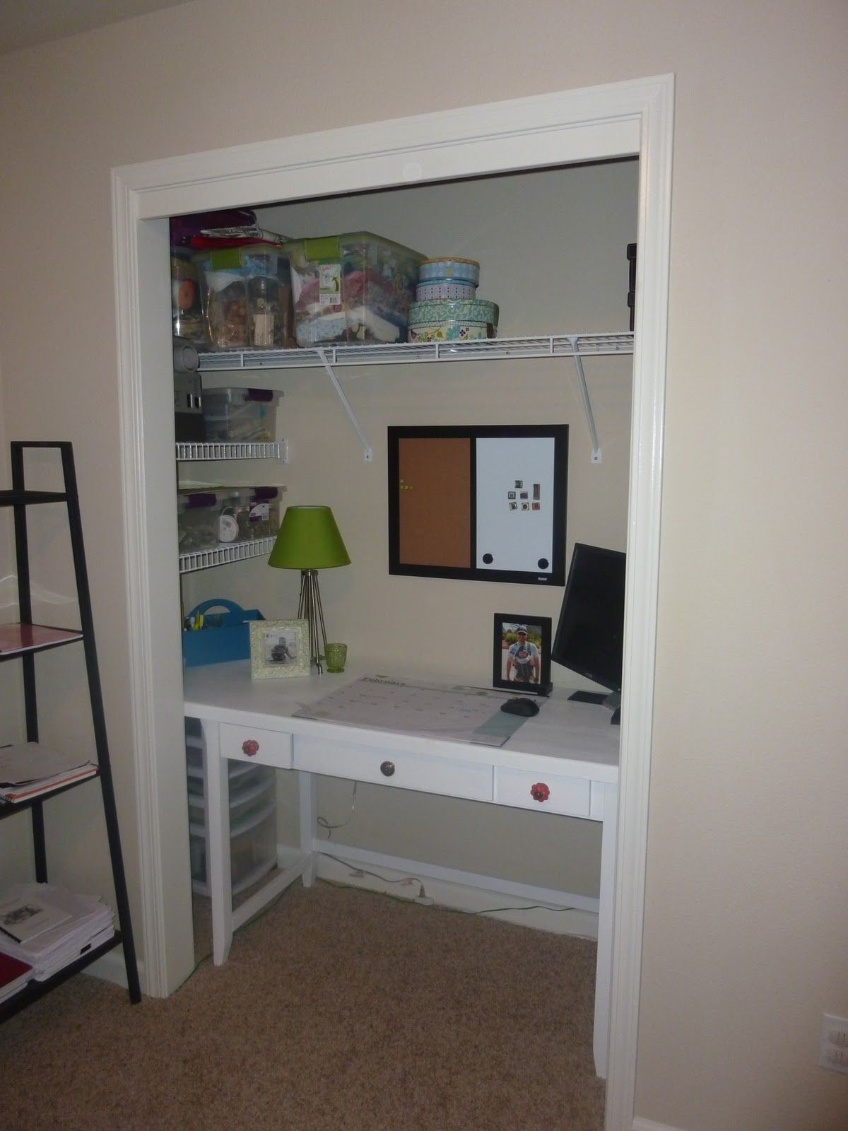 closet office ideas | Closet/Office Re-model