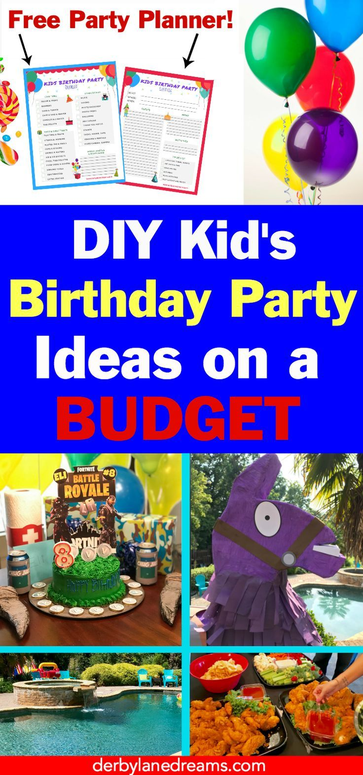 Fortnite Party Ideas, Fortnite Party Favors, and Supplies