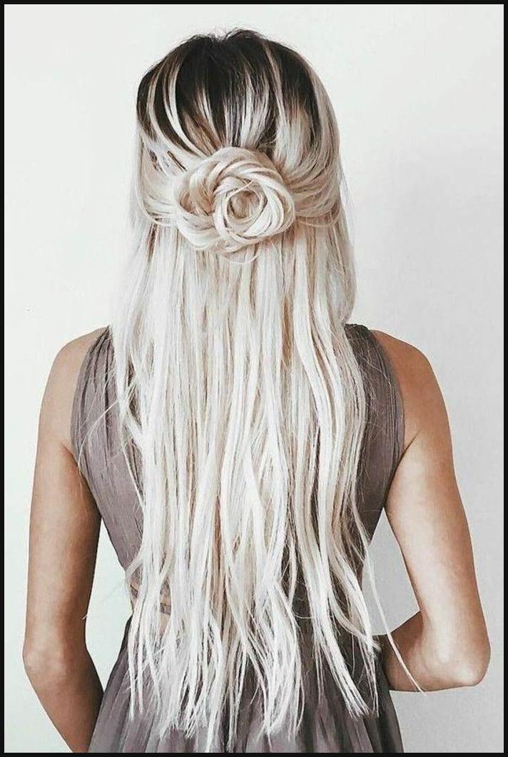 Schöne Haarfrisuren Für Jeden Anlass Rose Frisur Blonde Lange