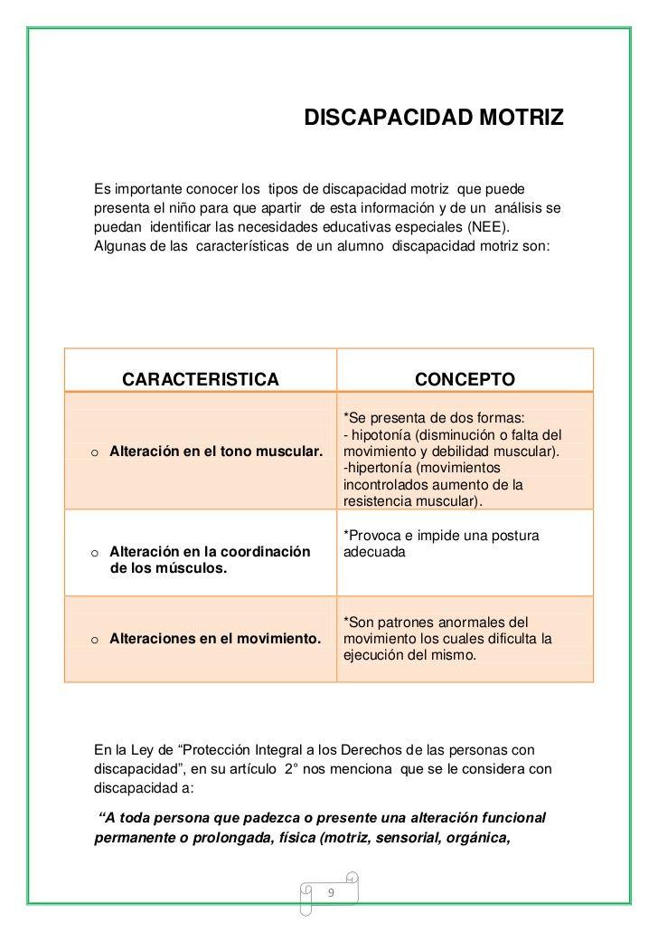 Guia De Intervencion Educativa Para Alumnos Con Discapacidad Motriz Intervencion Educativa Discapacidad Intervención