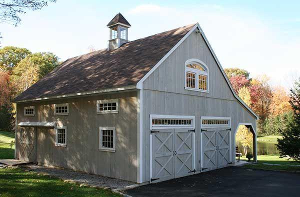 24 X 32 Garage Kits | custom garage barn | Barn house ...