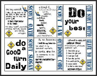 image relating to Cub Scout Oath and Law Printable called Pin upon Bobcat Cub Scouts