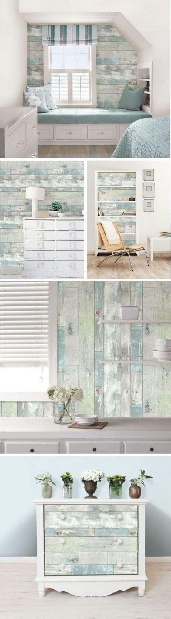 Bunk Room on the wall   Coastal Style   Pinterest   Bunk rooms ...