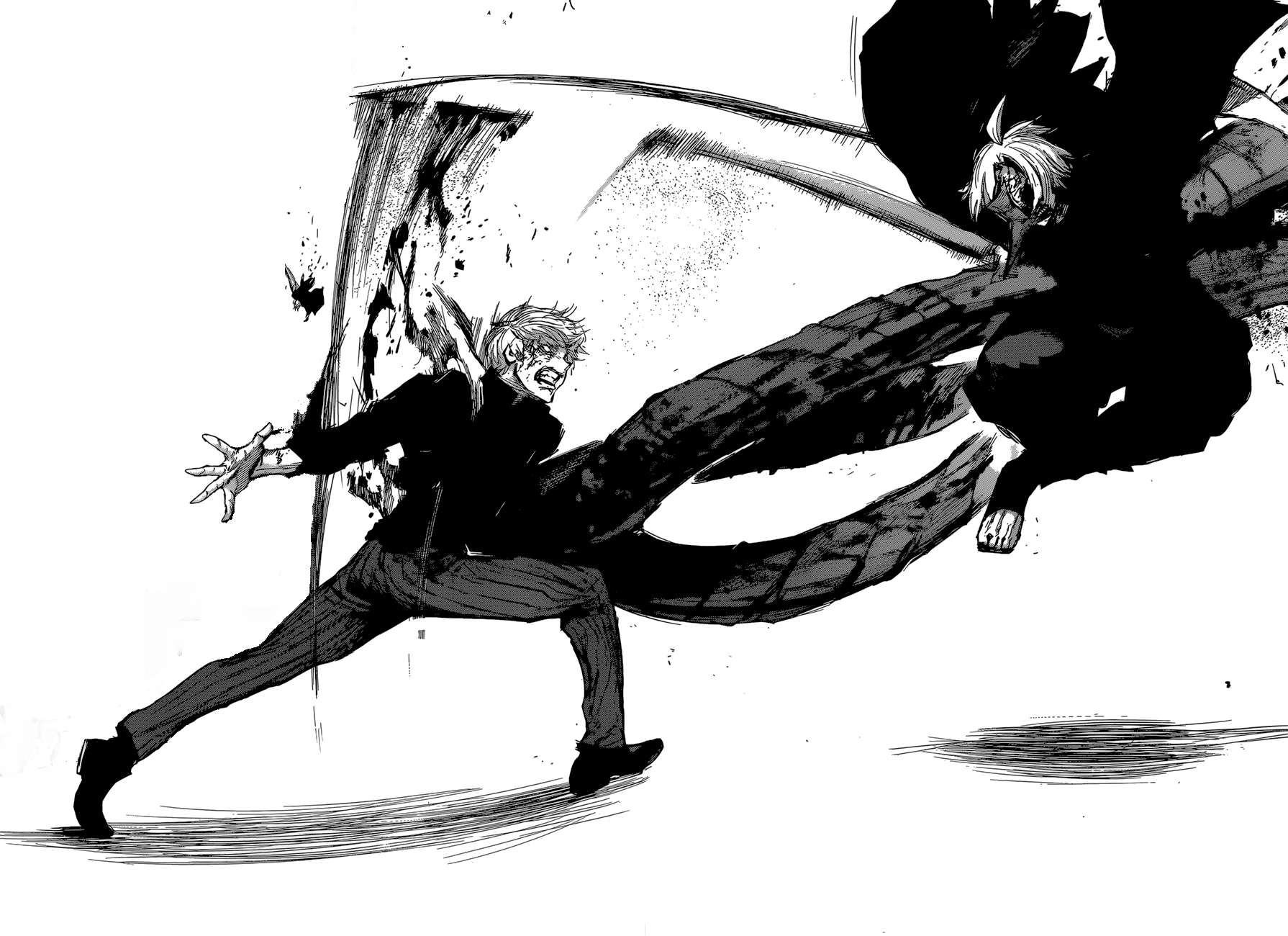 Sasaki Haise vs Seidou Takizawa