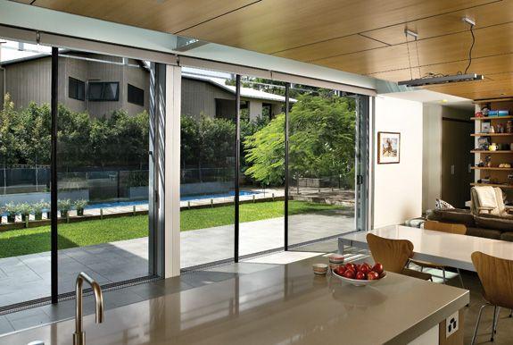 Centor Retractable Screen Recommended By Lotus Doors Folding Patio Doors Fly Screen Doors Sliding Screen Doors
