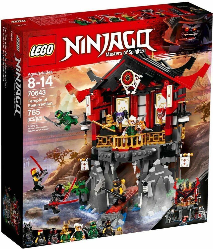 Lego Ninjago 70643 Temple Of Resurrection 765 Pieces New Sealed Lego Ninjago Ninjago Lego