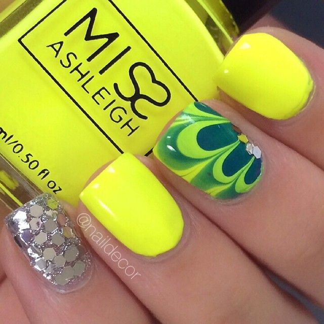 Beautiful yellow green water marble accent ===== Check out my Etsy ...