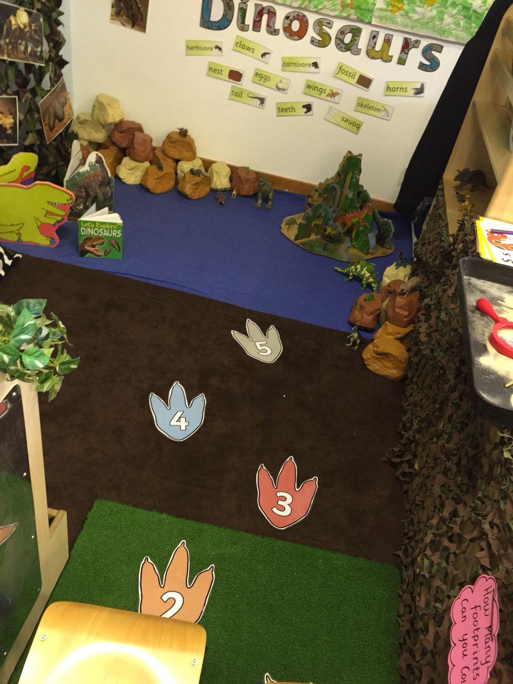 dinosaur role play area storytime dinosaur dinosaur theme preschool dinosaur classroom. Black Bedroom Furniture Sets. Home Design Ideas
