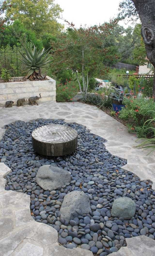Gartengestaltung Mit Steinen 26 Ideen Und Einsatz In Der Gartendeko Garten Deko Ideen Garten Deko Gartengestaltung Ideen
