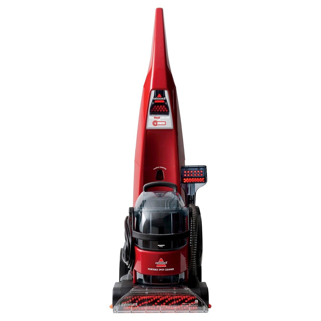 Bissell proheat 2x pet lift off deep cleaner how to