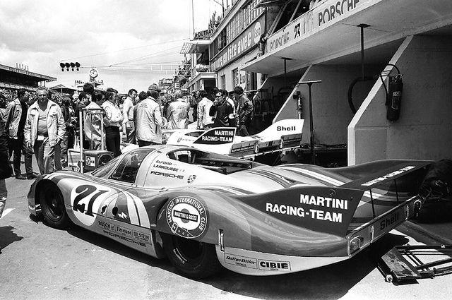 Martini Porsche 917 LH at Le Mans 1971