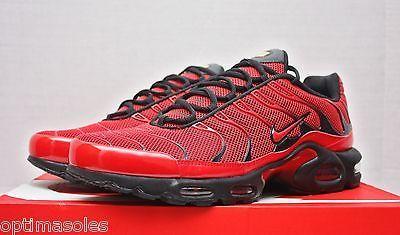 separation shoes 7c43c e5e8a Nike Air Max Plus TN Size 13 - Diablo Red Black Bred - 604133 660