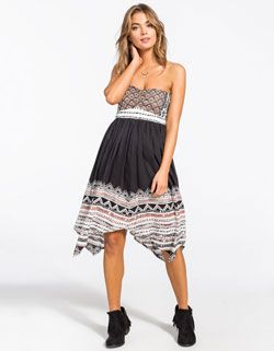 VOLCOM Spinternship Tube Dress