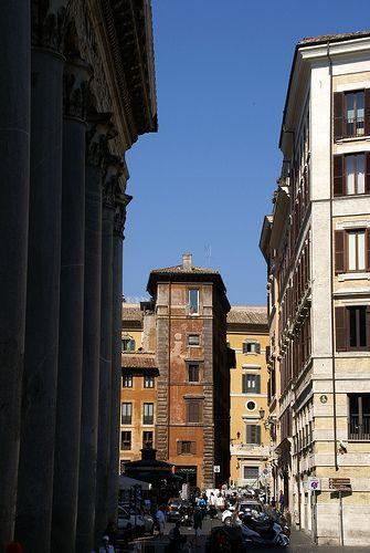 Rom, Piazza della Rotonda/Via della Rosetta