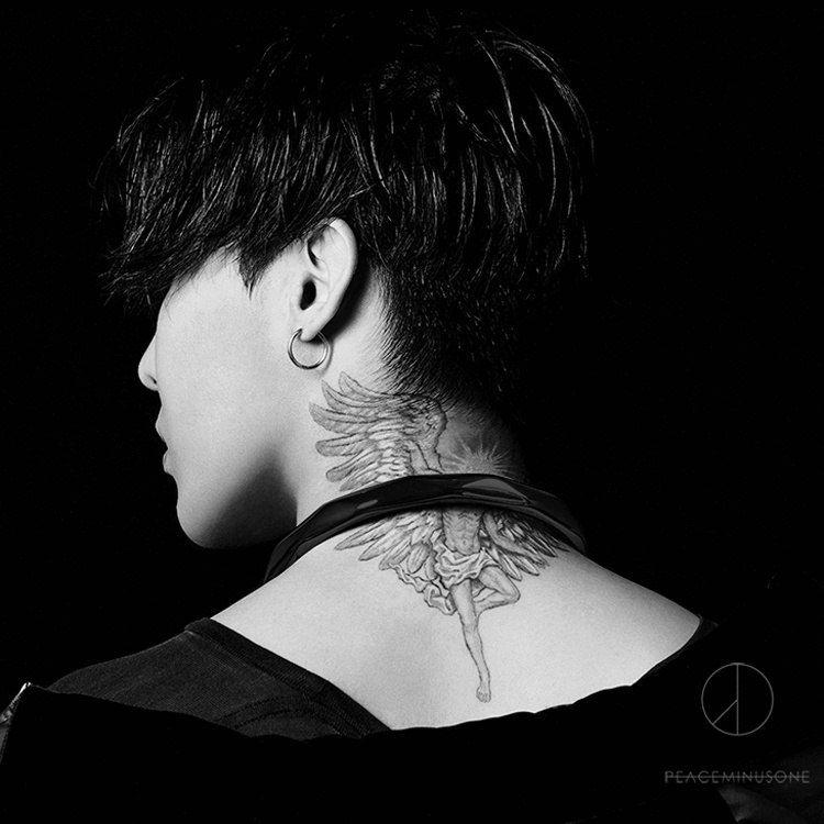 G Dragon Kwon Jiyong Bigbang G Dragon Tattoo Dragon Tattoo Neck G Dragon