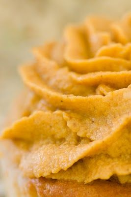 pumpkin pie frosting.