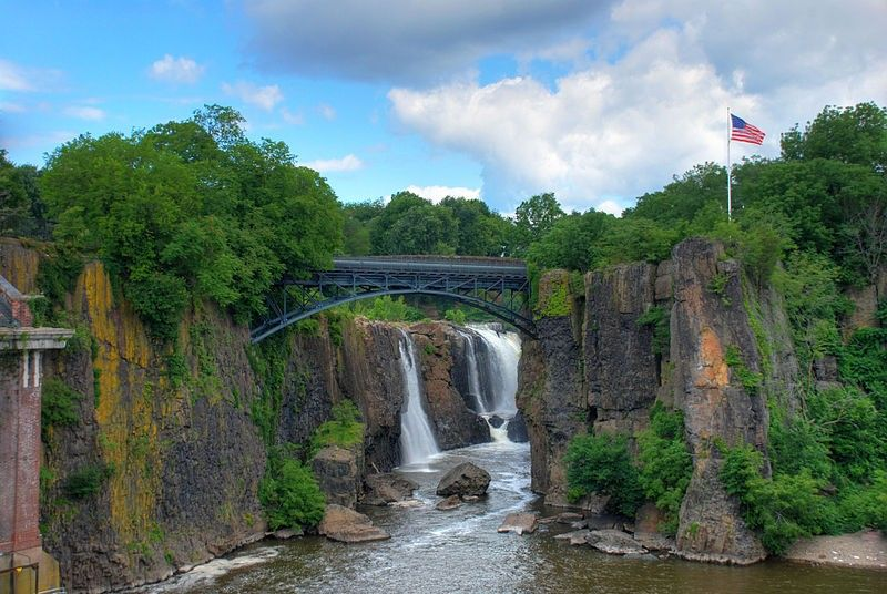 Paterson Great Falls National Historic Park In New Jersey Rp By Dch Paramus Honda Team Leader