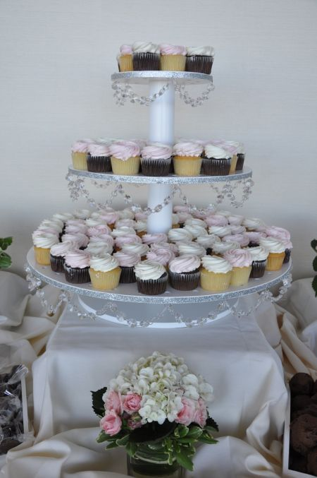 80th birthday cupcake tower See more party and 80th birthday