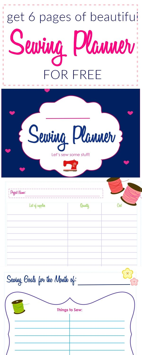 Sew Inspiring Sewing Planner By Sew Some Stuff - Sew Some Stuff