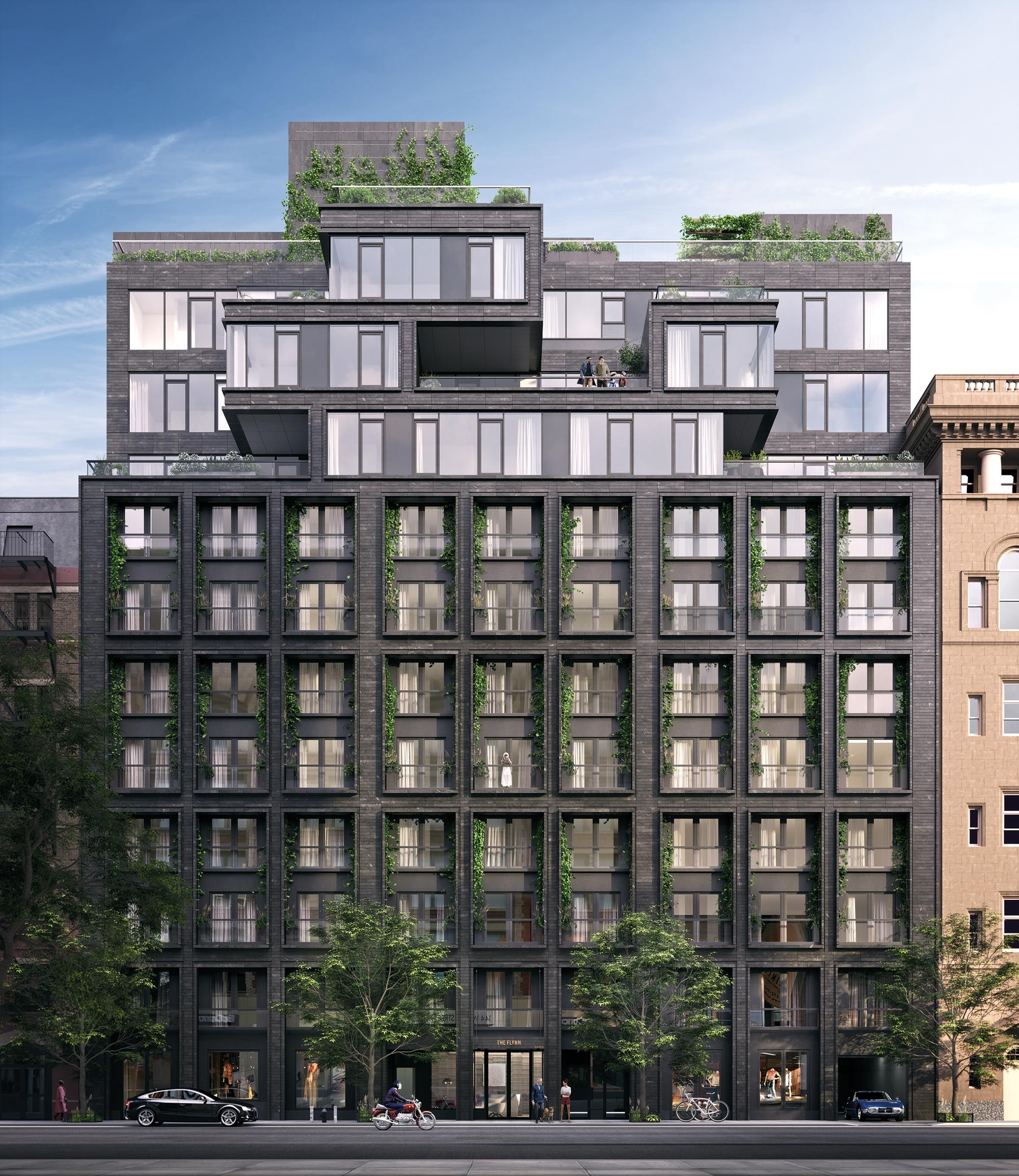 Oda architecture the flynn 155 west 18th new york ny pup padu architecture building - Residence de standing oda new york ...