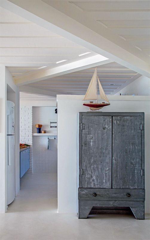 ACHADOS DE DECORAÇÃO PARA RELAXAR casa de praia - uma passagem - Idee Deco Maison De Campagne