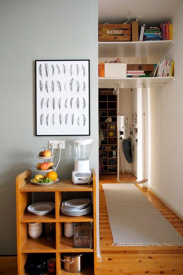 Die Küche mit Blick in den Flur Wall colors, Decorate walls and - bilder für die küche