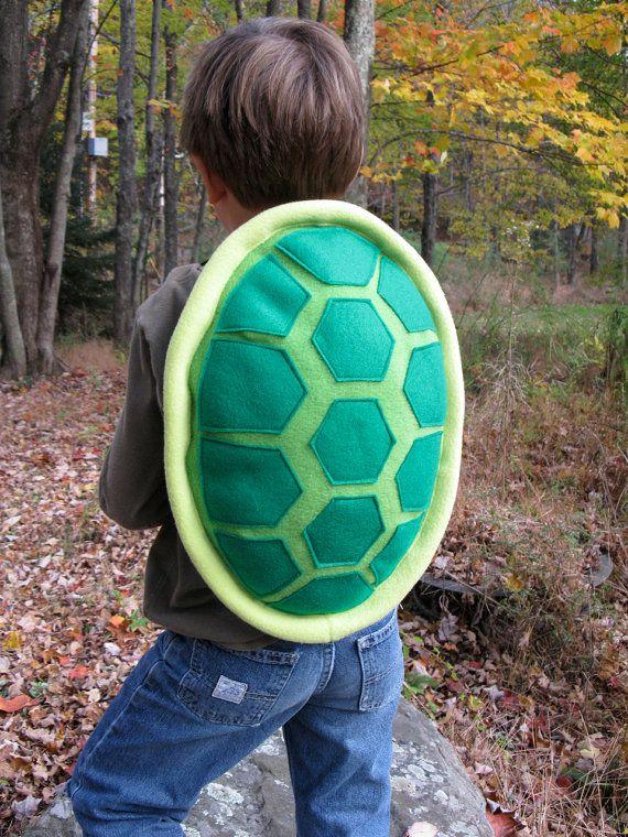 green turtle shell costume for children schildkr tenpanzer schattierungen und klettverschluss. Black Bedroom Furniture Sets. Home Design Ideas