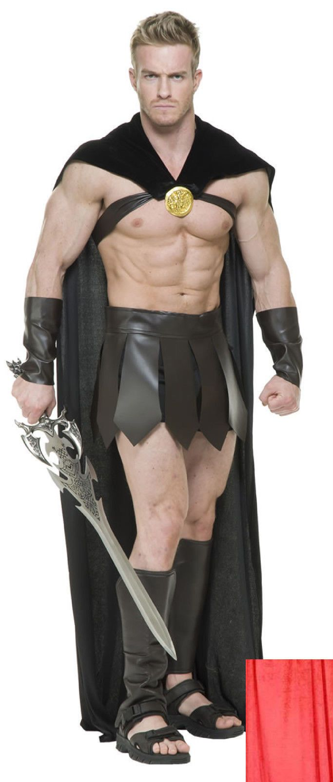 Spartan Warrior 300 Roman Greek Gladiator Thor Superhero Costume