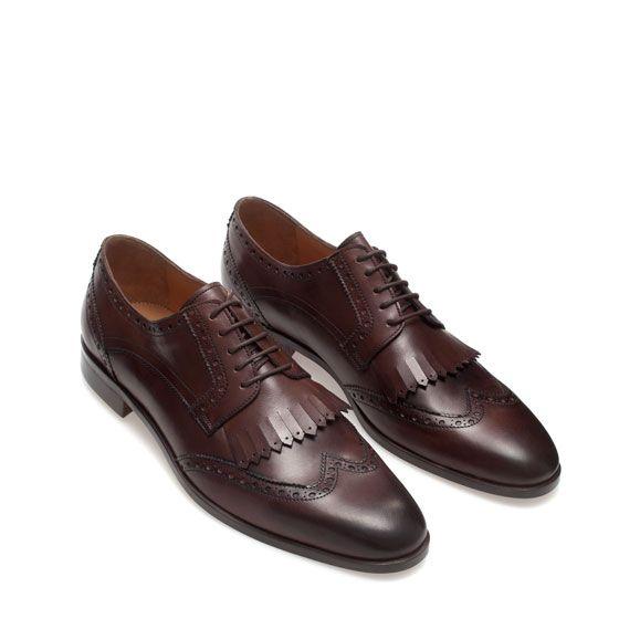 Zara Blucher Shoes Boys